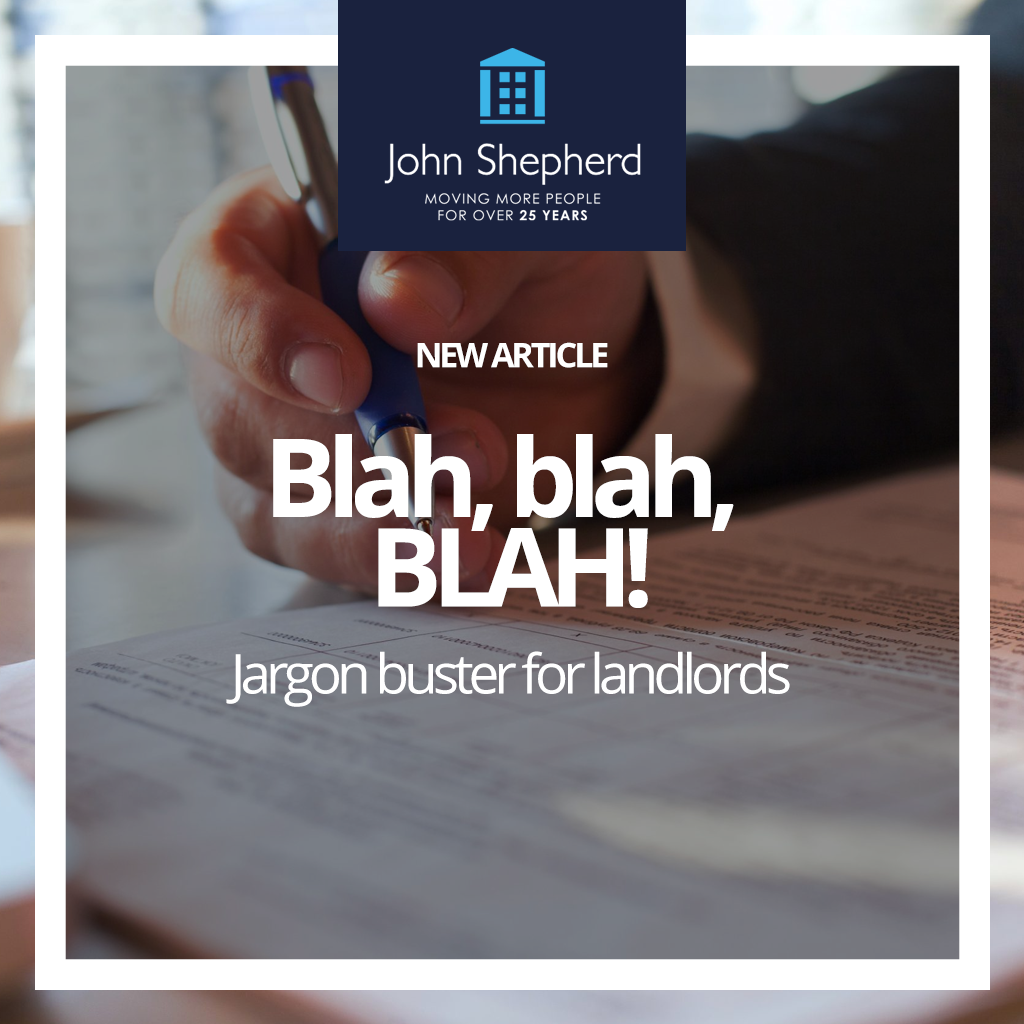 jargon buster for landlords