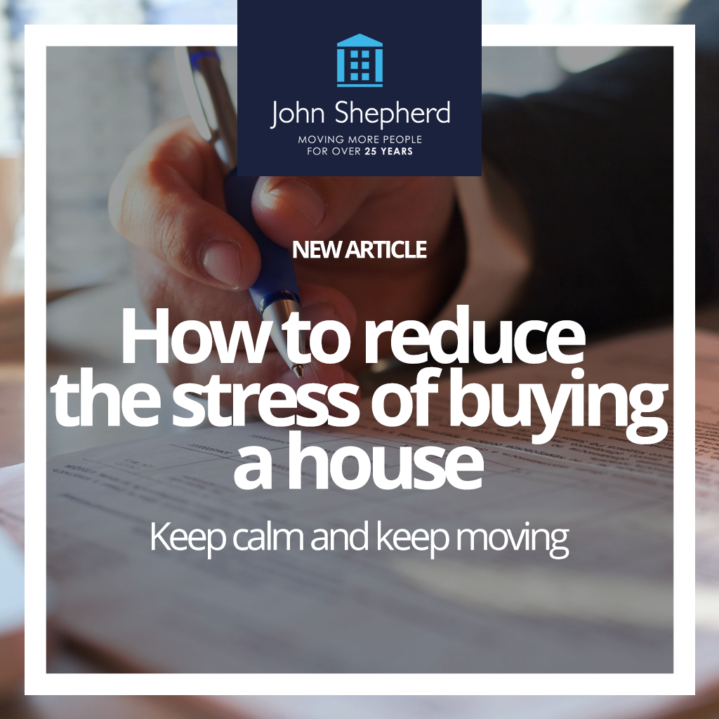 How to reduce the stress of buying a house