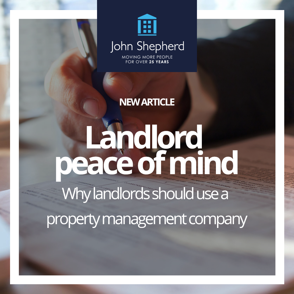 Why should landlords use a property management company?
